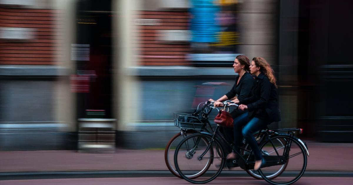 biciclette in primo piano